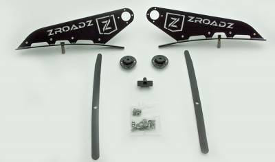 ZROADZ                                             - 2016-2019 Nissan Titan Front Roof LED Bracket to mount (1) 50 Inch Curved LED Light Bar - PN #Z337581 - Image 10