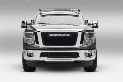 ZROADZ                                             - 2016-2019 Nissan Titan Front Roof LED Kit, Incl. (1) 50 Inch LED Curved Double Row Light Bar - PN #Z337581-KIT-C - Image 2