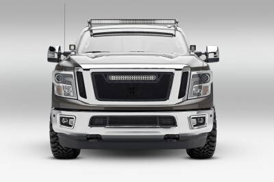ZROADZ                                             - 2016-2019 Nissan Titan Hood Hinge LED Bracket to mount (2) 3 Inch LED Pod Lights - PN #Z367581 - Image 4