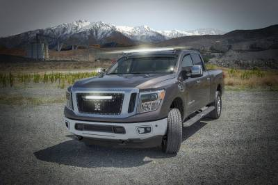 ZROADZ                                             - 2016-2019 Nissan Titan Hood Hinge LED Bracket to mount (2) 3 Inch LED Pod Lights - PN #Z367581 - Image 8