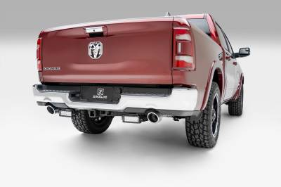 2019 Ram 1500 Rear Bumper LED Kit, Incl. (2) 6 Inch LED Straight Double Row Light Bars - PN #Z384721-KIT - Image 1