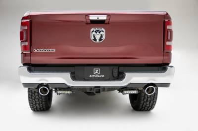 ZROADZ                                             - 2019-2021 Ram 1500 Rear Bumper LED Bracket to mount (2) 6 Inch Straight Single Row Light Bar - PN #Z384821 - Image 3