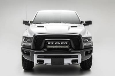 2015-2018 Ram Rebel Front Bumper Top LED Kit, Incl. (1) 20 Inch LED Straight Double Row Light Bar - PN #Z324552-KIT - Image 3