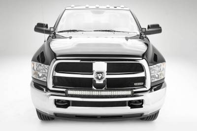ZROADZ                                             - 2010-2018 Ram 2500, 3500 Front Bumper Top LED Bracket to mount (1) 30 Inch LED Light Bar - PN #Z324522 - Image 2
