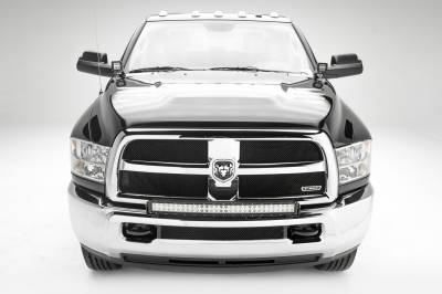 ZROADZ                                             - 2010-2019 Ram 2500, 3500 Front Bumper Top LED Kit, Incl. (1) 30 Inch LED Curved Double Row Light Bar - PN #Z324522-KIT - Image 2
