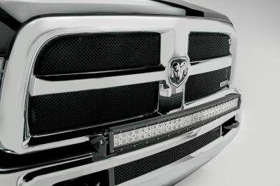 ZROADZ                                             - 2010-2019 Ram 2500, 3500 Front Bumper Top LED Kit, Incl. (1) 30 Inch LED Curved Double Row Light Bar - PN #Z324522-KIT - Image 4