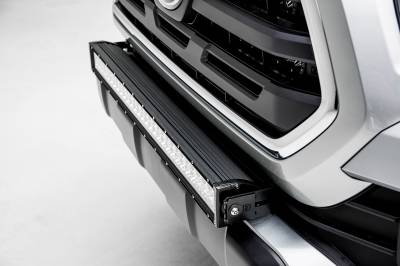 2018-2019 Toyota Tacoma Front Bumper Center LED Bracket to mount 30 Inch LED Light Bar - PN #Z329511 - Image 4