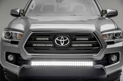 2018-2019 Toyota Tacoma Front Bumper Center LED Bracket to mount 30 Inch LED Light Bar - PN #Z329511 - Image 8