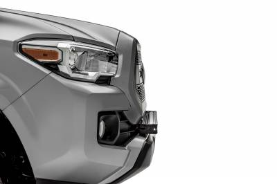 2018-2019 Toyota Tacoma Front Bumper Center LED Kit, Incl. (1) 30 Inch LED Straight Single Row Slim Light Bar - PN #Z329511-KIT-S - Image 4