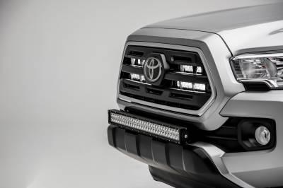 2018-2019 Toyota Tacoma OEM Grille LED Kit, Incl. (2) 10 Inch LED Single Row Slim Light Bars - PN #Z419611-KIT - Image 4