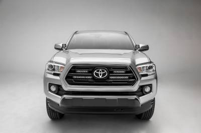 ZROADZ                                             - 2018-2019 Toyota Tacoma OEM Grille LED Kit, Incl. (2) 6 Inch LED Straight Single Row Slim Light Bars - PN #Z419511-KIT - Image 8