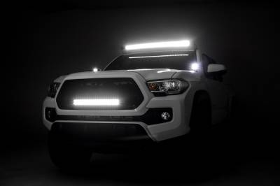 ZROADZ                                             - 2005-2019 Toyota Tacoma Front Roof LED Kit, Incl. (1) 40 Inch LED Curved Double Row Light Bar - PN #Z339401-KIT-C - Image 4