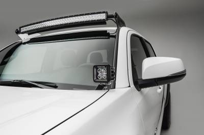 ZROADZ                                             - 2016-2020 Toyota Tacoma Hood Hinge LED Bracket to mount (2) 3 Inch LED Pod Lights - PN #Z369401 - Image 2