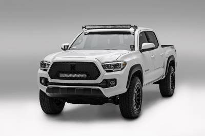 ZROADZ                                             - 2016-2020 Toyota Tacoma Hood Hinge LED Bracket to mount (2) 3 Inch LED Pod Lights - PN #Z369401 - Image 4