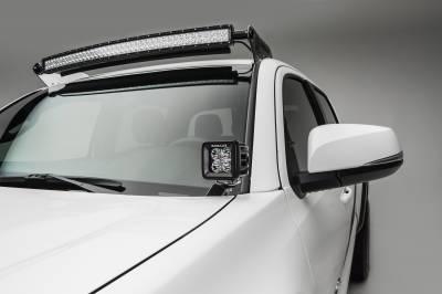 2016-2019 Toyota Tacoma Hood Hinge LED Kit, Incl. (2) 3 Inch LED Pod Lights - PN #Z369401-KIT2 - Image 1