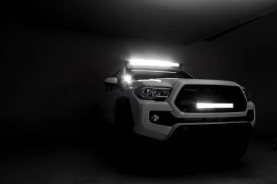 2016-2019 Toyota Tacoma Hood Hinge LED Kit, Incl. (2) 3 Inch LED Pod Lights - PN #Z369401-KIT2 - Image 8