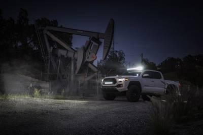 ZROADZ                                             - 2016-2020 Toyota Tacoma Hood Hinge LED Kit, Incl. (2) 3 Inch LED Pod Lights - PN #Z369401-KIT2 - Image 9