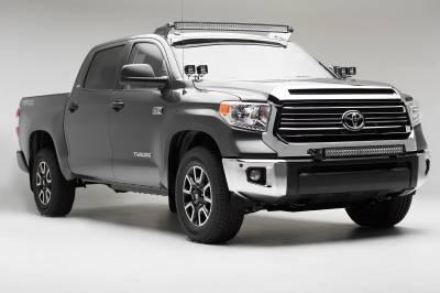 2014-2019 Toyota Tundra Front Bumper Top LED Bracket to mount (1) 30 Inch LED Light Bar - PN #Z329641 - Image 2