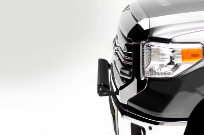 2014-2019 Toyota Tundra Front Bumper Top LED Bracket to mount (1) 30 Inch LED Light Bar - PN #Z329641 - Image 5