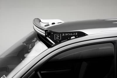 ZROADZ                                             - 2007-2020 Toyota Tundra Front Roof LED Bracket to mount 50 Inch Curved LED Light Bar - PN #Z339641 - Image 1