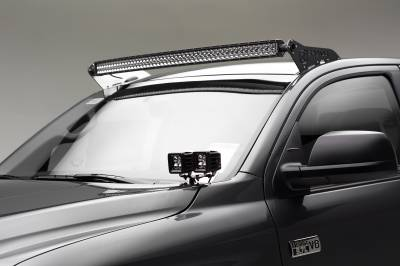 2007-2019 Toyota Tundra Front Roof LED Kit, Incl. (1) 50 Inch LED Curved Double Row Light Bar - PN #Z339641-KIT-C - Image 1