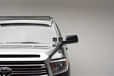 2007-2019 Toyota Tundra Front Roof LED Kit, Incl. (1) 50 Inch LED Curved Double Row Light Bar - PN #Z339641-KIT-C - Image 2
