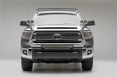 2007-2019 Toyota Tundra Front Roof LED Kit, Incl. (1) 50 Inch LED Curved Double Row Light Bar - PN #Z339641-KIT-C - Image 6