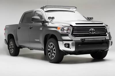 2007-2019 Toyota Tundra Front Roof LED Kit, Incl. (1) 50 Inch LED Curved Double Row Light Bar - PN #Z339641-KIT-C - Image 7