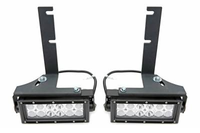 ZROADZ                                             - 2014-2020 Toyota Tundra Rear Bumper LED Kit, Incl. (2) 6 Inch LED Straight Double Row Light Bars - PN #Z389641-KIT - Image 4