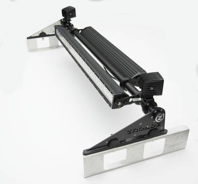 Modular Rack LED Kit, Incl. (1) 40 Inch (1) 30 Inch Straight Double Row Light Bars, (2) 3 Inch LED Pod Lights - PN #Z350050-KIT-E - Image 5