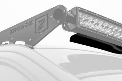 Noise Cancelling Universal Wind Diffuser for (1) 52 Inch Curved Double Row LED Light Bar - PN #Z330052C - Image 2