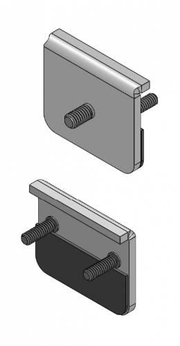 Universal Panel Clamp LED Bracket to mount (1) 3 Inch LED Pod Lights - PN #Z390001 - Image 4