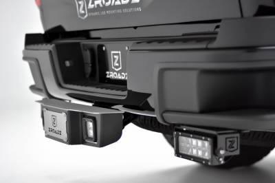 ZROADZ                                             - Universal Hitch Step LED Kit with (2) 3 Inch LED Pod Lights, Fits 2.5 Inch Receiver - PN #Z390011-KIT - Image 1