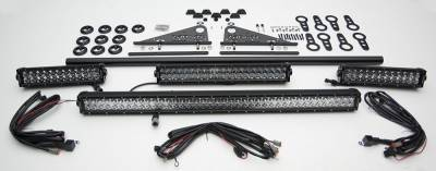 Modular Rack LED Kit, Incl. (1) 40 Inch (1) 20 Inch, (2) 12 Inch LED Straight Double Row Light Bars - PN #Z350050-KIT-C - Image 3