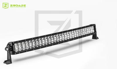 (1) 30 Inch LED Curved Double Row Light Bar - PN #Z30CBC14W180 - Image 2