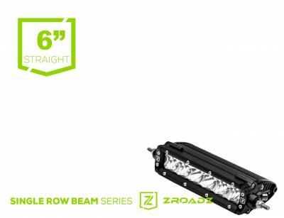 ZROADZ                                             - 6 Inch LED Straight Single Row Slim Light Bar - PN #Z30S1-6-P7EJ - Image 1