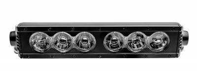 (1) 10 Inch LED Straight Single Row Tri Beam Light Bar - PN #Z30NTM01-10 - Image 2