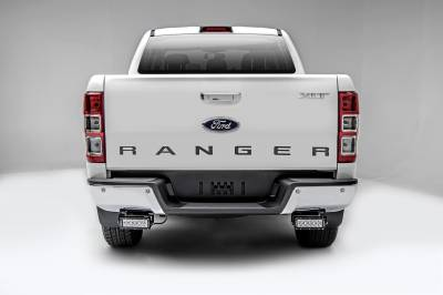 ZROADZ                                             - 2015-2018 Ford Ranger T6 Rear Bumper LED Kit with (2) 6 Inch LED Straight Double Row Light Bars - PN #Z385761-KIT - Image 3
