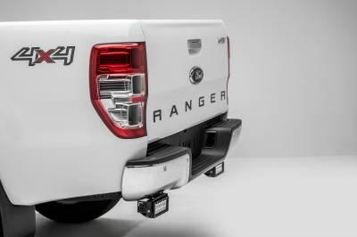 ZROADZ                                             - 2015-2018 Ford Ranger T6 Rear Bumper LED Bracket to mount (2) 6 Inch Straight Light Bar - PN #Z385761 - Image 2