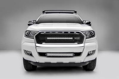 2015-2018 Ford Ranger T6 Front Roof LED Bracket to mount (1) 40 Inch Curved LED Light Bar - PN #Z335761 - Image 4