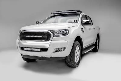 ZROADZ                                             - 2015-2018 Ford Ranger T6 Front Roof LED Kit with (1) 40 Inch LED Curved Double Row Light Bar - PN #Z335761-KIT-C - Image 4