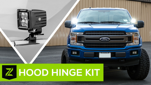 Ford F-150 Hood Hinge Mounting Kit from ZROADZ