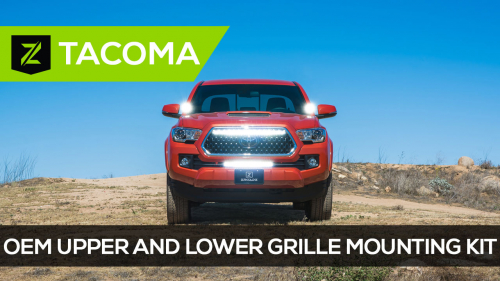 Toyota Tacoma OEM Upper and Lower Grille Mounting Kit