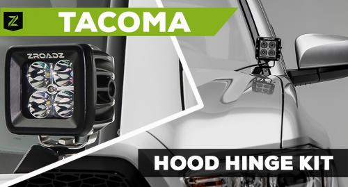Toyota Tacoma Hood Hinge Kit
