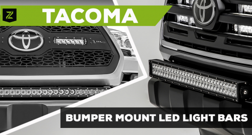 Toyota Tacoma Front Bumper Mounting Kit