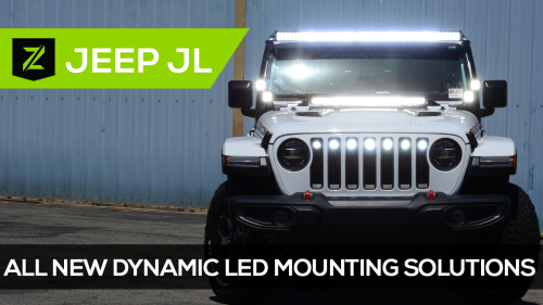 Jeep Wrangler JL LED Mounting Brackets and Kits