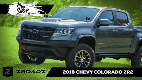 Chevrolet Colorado ZR2 - In the Shop