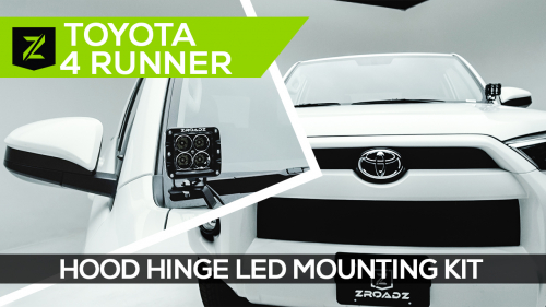 Toyota 4Runner Hood Hinge LED Mounting Kit