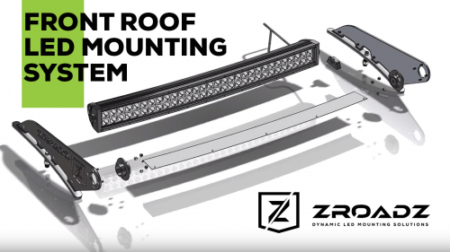 Front Roof LED Mounting System