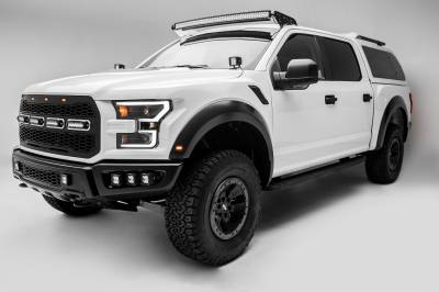 ZROADZ                                             - 2017-2020 Ford F-150 Raptor Hood Hinge LED Kit, Incl. (2) 3 Inch LED Pod Lights - PN #Z365701-KIT2 - Image 14